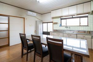 民宿 内観・キッチン